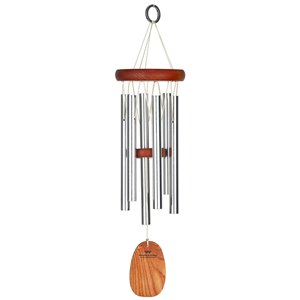 Associate Product Woodstock Amazing Grace silver wind chime