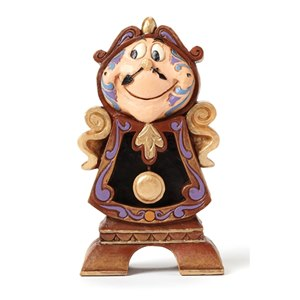 Associate Product Disney Traditions Cogsworth Keeping Watch Figurine