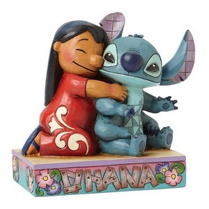Associate Product Disney Traditions Ohana Means Family Lilo & Stitch Figurine